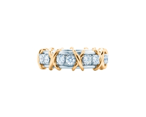 Tiffany Jean Schlumberger Sixteen Stone ring