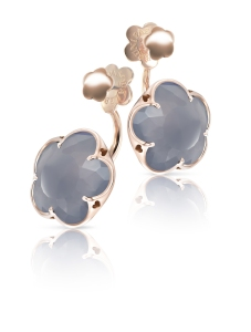 Bon Ton grey Agate earrings